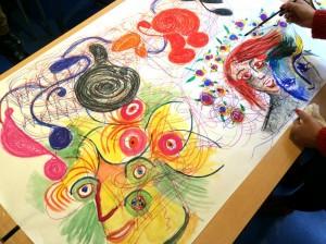 Atelier de groupe - œuvre commune - 2015