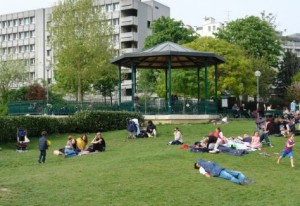 Jardin Villemin - Paris 10e - Forum des associations le 18 septembre 2016